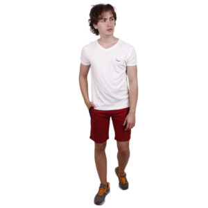 Maroon Regular Fit Shorts