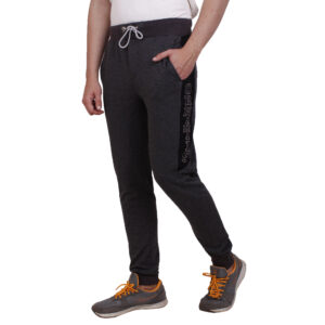 Basic track pant – Anthra melange