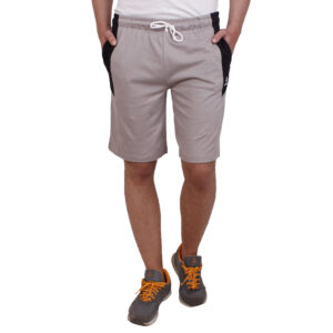 Grey Regular Fit Shorts