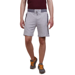 Track Field Shorts – Grey melange