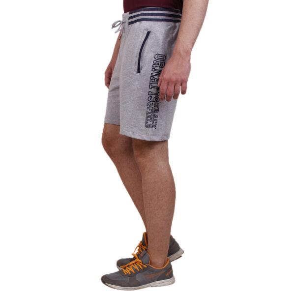 Track Field Shorts -grey melange 2